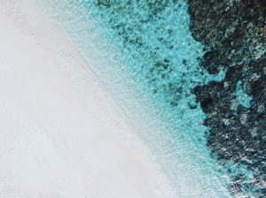 coté ouest de l'île Maurice