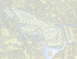 Plan de masse villas Akasha
