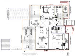 plan RDC villa village B