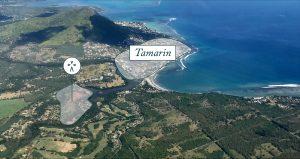 Site de construction villas Akasha à Tamarin sur l'île Maurice