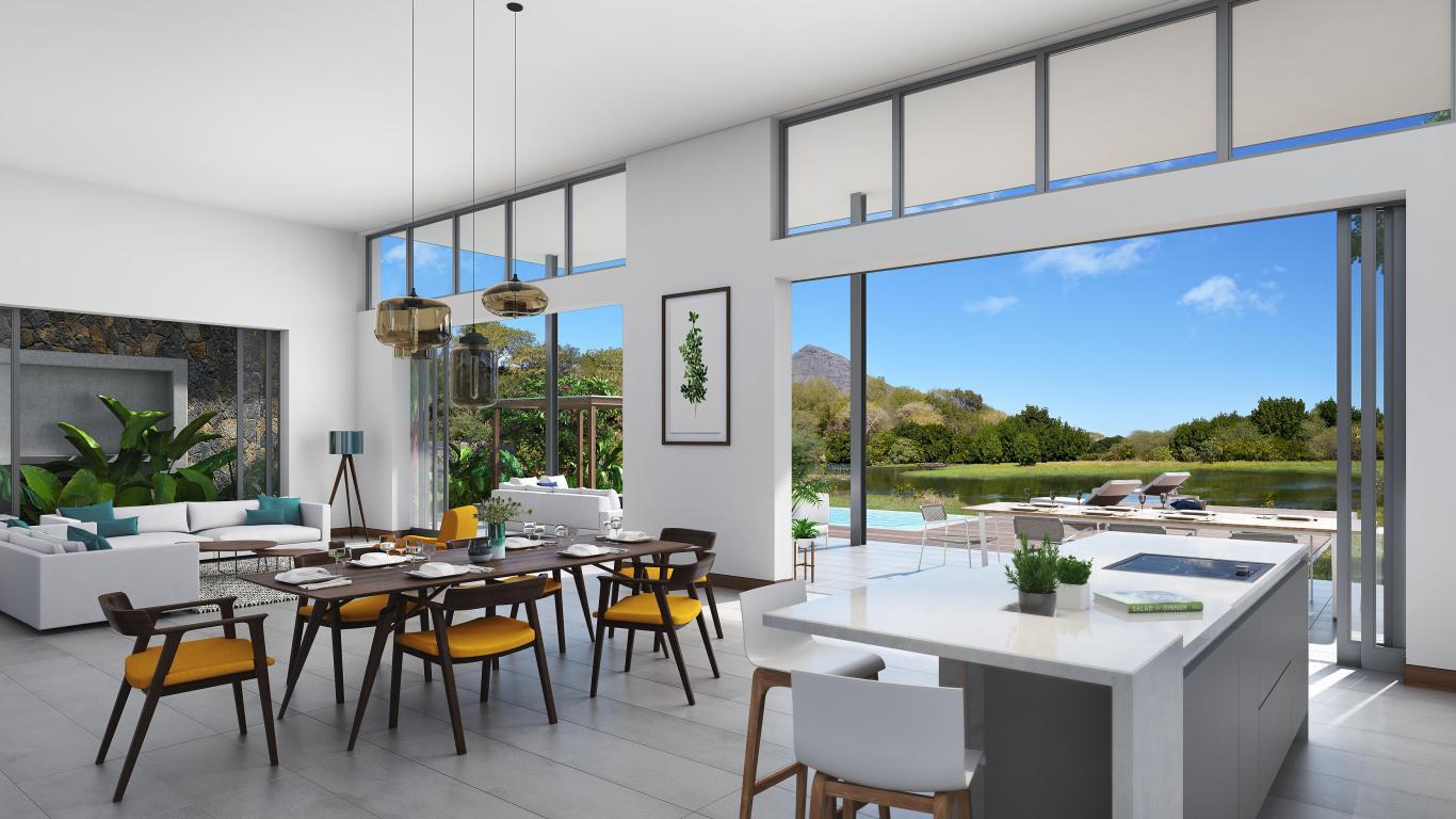 akasha luxury villa in tamarin mauritius