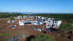 vue aérienne du chantier Akasha