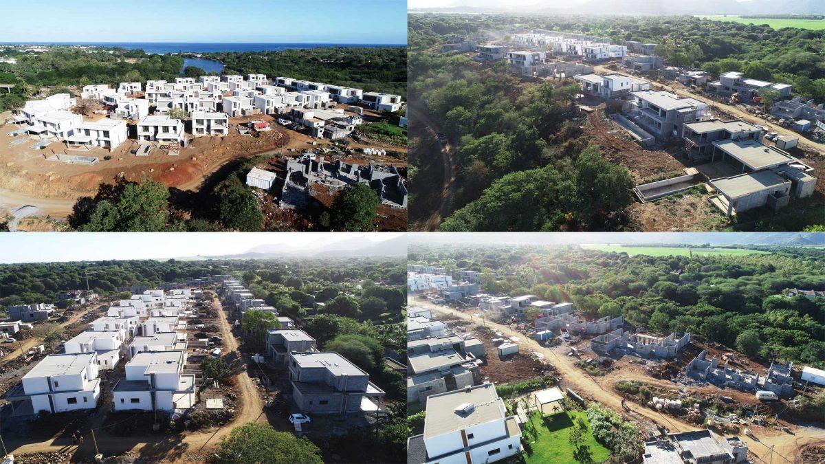 Évolution du chantier Akasha juin 2019