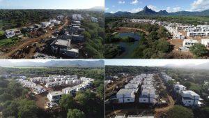 Évolution du chantier Akasha juillet 2019