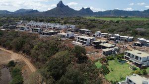 Avancement des villas Montagne en septembre 2019