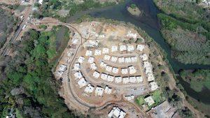 Avancement des villas Village en septembre 2019