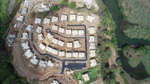 Avancement villas Village Akasha octobre 2019