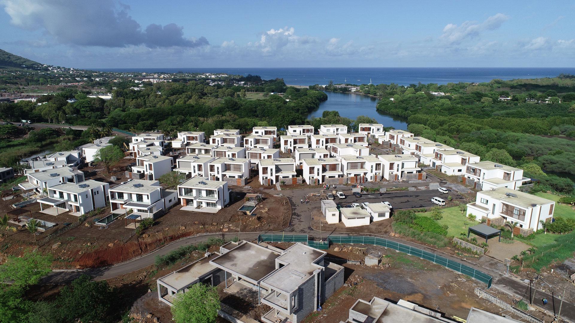 Avancement du chantier Villa Village en décembre 2019